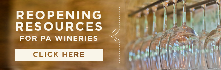 Reopening Resources for PA Wineries